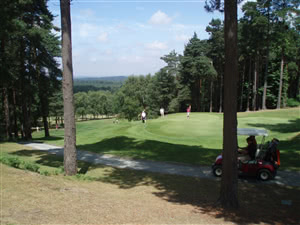 Image of the grounds at Old Thorns Golf Club