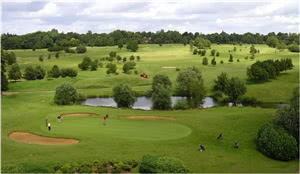 Image of the grounds at Hurtmore Golf Club