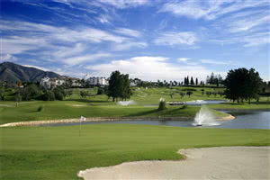 Image of the grounds at Mijas Golf Club