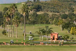 Image of the grounds at Santa Clara Golf Course