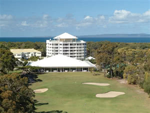 Image of the grounds at Bribie Island Golf Club