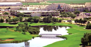 Image of the grounds at Mojave Resort Golf Club