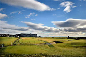 Image of the grounds at Carnoustie Golf Club