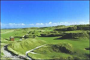 Image of the grounds at Saunton Golf Club