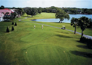 Image of the grounds at Kissimmee Bay Country Club