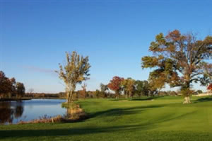 Image of the grounds at Bull Run Country Club