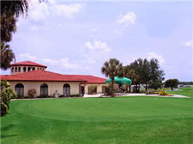 Image of the grounds at Cypress Greens Golf & Tennis Community