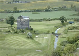 Image of the grounds at Niddry Castle Golf Club