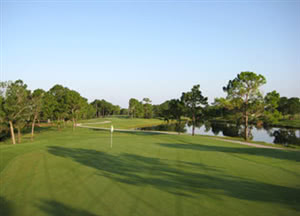 Image of the grounds at Hunter's Creek Golf Course