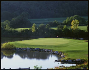 Image of the grounds at Harbor Links Golf Course