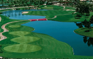 Image of the grounds at Ocotillo Golf Resort