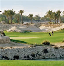Image of the grounds at Doha Golf Club