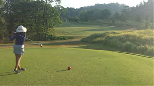 Image of the grounds at The Gunung Raya Golf Resort