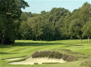 Image of the grounds at Sunningdale Heath Golf Club