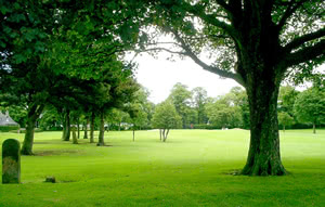 Image of the grounds at Petersfield Golf Club
