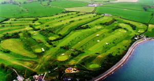 Image of the grounds at Caernarfon Golf Club