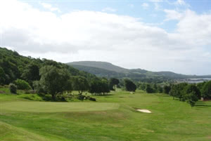 Image of the grounds at Largs Golf Club