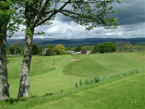 Image of the grounds at Muthill Golf Club