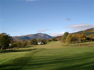 Image of the grounds at Callander Golf Club