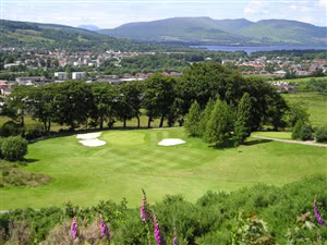 Image of the grounds at Vale of Leven Golf Club