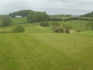 Image of the grounds at Coed Y Mwstwr Golf Club