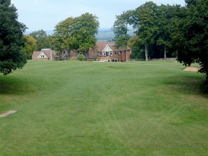 Image of the grounds at Guildford Golf Club