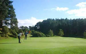 Image of the grounds at Little Hay Golf Complex
