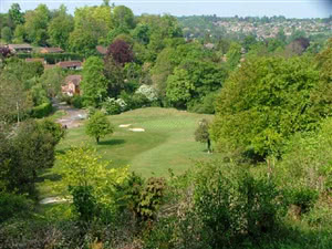 Image of the grounds at Boxmoor Golf Club