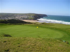 Image of the grounds at Perranporth Golf Club