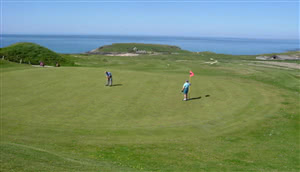 Image of the grounds at Mullion Golf Club