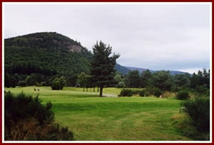 Image of the grounds at Ballater Golf Club