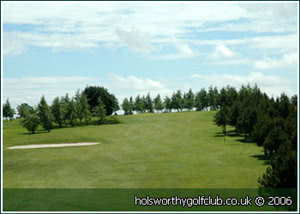 Image of the grounds at Holsworthy Golf Club