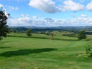 Image of the grounds at Llandrindod Wells Golf Club