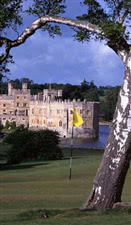 Image of the grounds at Leeds Castle Golf Club