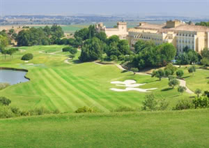Image of the grounds at Montecastillo Golf Club