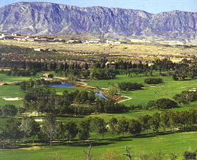 Image of the grounds at El Plantio Golf Club