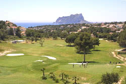 Image of the grounds at Club de Golf Ifach
