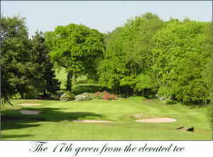 Image of the grounds at Moor Hall Golf Club