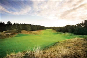 Image of the grounds at Formby Golf Club