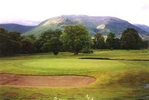 Image of the grounds at Dalmally Golf Club
