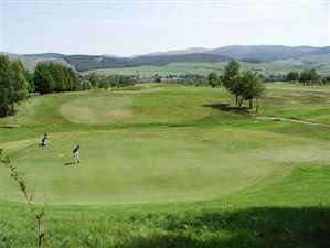 Image of the grounds at Moffat Golf Club